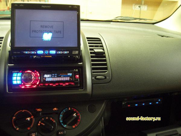 Магнитола для Nissan (Juke, Navara, Note, Qashqai, Tiida, X-Trail